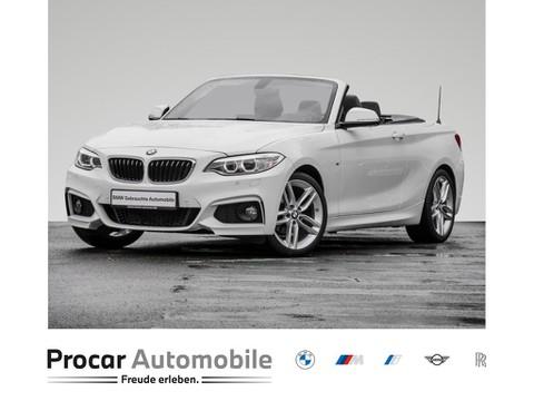 BMW 218 i CABRIO MSPORT HIFI BUSI OPEN