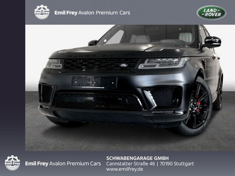 Land Rover Range Rover Sport P400e Hybrid Autobiogr Dynamic Matt Schwarz
