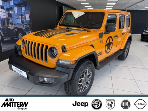 Jeep Wrangler Unlimited 80th Sicherheits-Paket