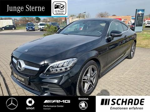 Mercedes-Benz C 180 Coupé AMG Line P Spiegel-P