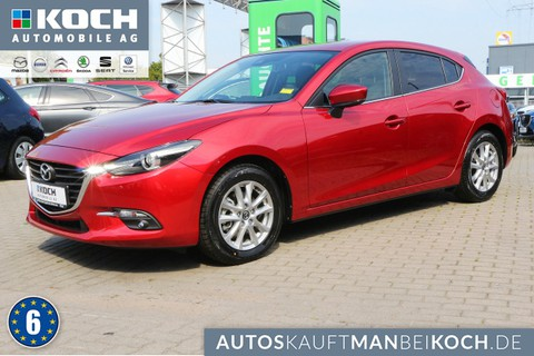 Mazda 3 SKY-G 120PS EXCLUSIVE Allwetter