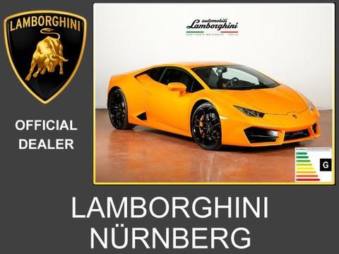 Lamborghini Huracán RWD arancio fux Carbon Interieur