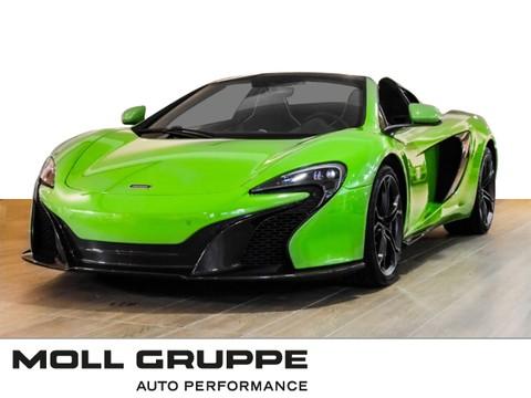 McLaren 650S Spider Special Paint Mantis Green