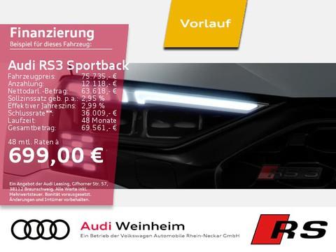 Audi RS3 Sportback 280km h