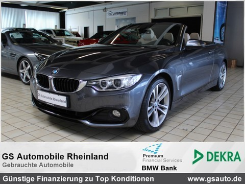 BMW 428 i Cabrio Sport Line Prof 18