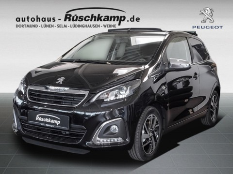 Peugeot 108 TOP COLLECTION ELEKTR STOFFSONNENDACH