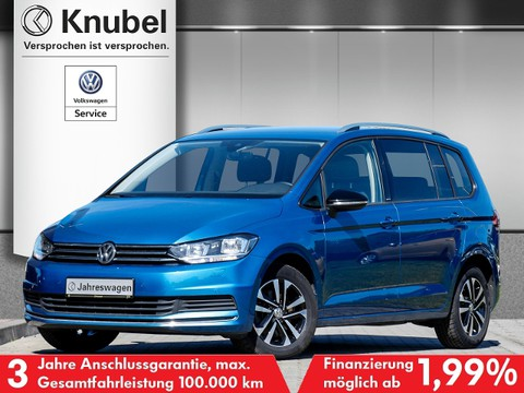 Volkswagen Touran 1.0 TSI IQ DRIVE Side Lane FrontAss
