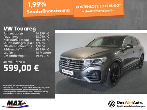 Volkswagen Touareg V8 TDI R-LINE IQ LIGHT