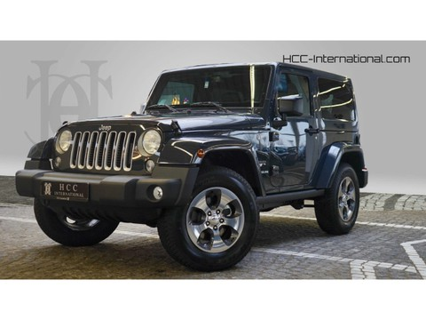 Jeep Wrangler 2.8 Sahara CRD Alpine