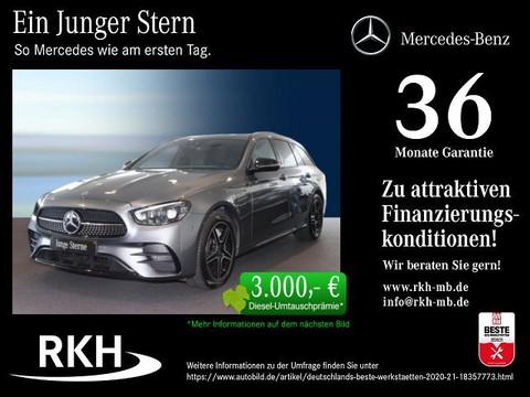 Mercedes-Benz E 300 de T AMG MBUX Burmester Night Multib