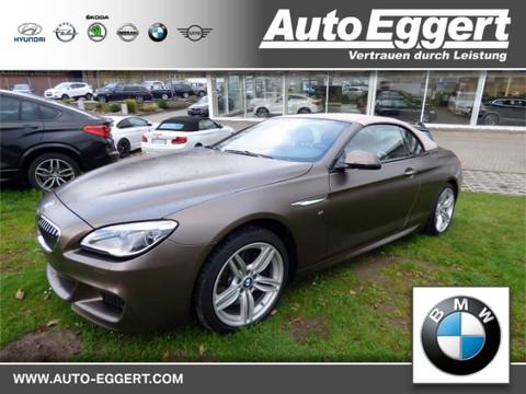 BMW 650 i xDrive Cabrio M-Sportpaket Nachtsichtass