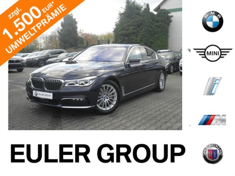 BMW 740 e iPerform Laser Innovation GSD Massage Aktivlenkung TV
