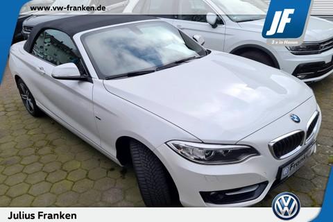 BMW 220 d Cabriolet