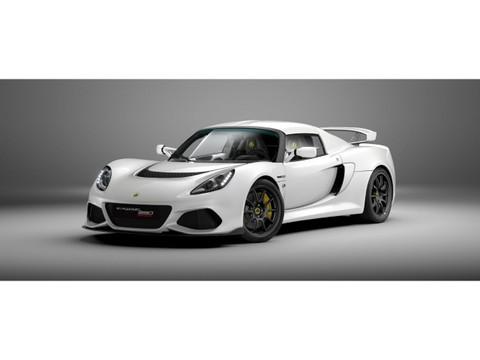 Lotus Exige Sport 390 METALLIC WHITE by LOTUS HAESE