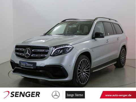 Mercedes GLS 63 AMG Night TV Drivers-Package