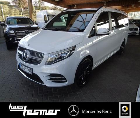Mercedes-Benz V 220 d LANG - EDITION 19 - AMG MBUX TISCH