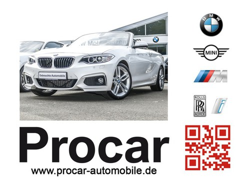 BMW 228 i Cabrio M Sport Business