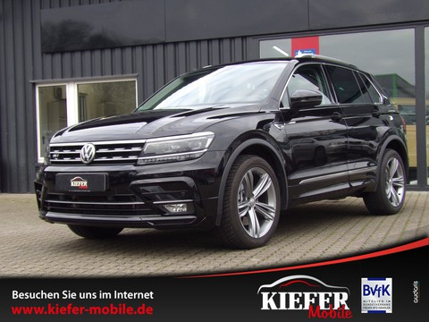 Volkswagen Tiguan 2.0 TFSI 190 R-Line | Highline | elektr Heckkl | Virtuel |