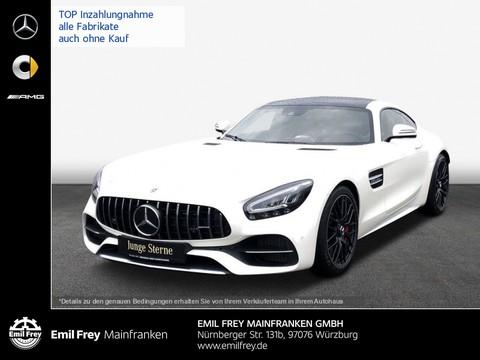 Mercedes-Benz AMG GT C Coupe Performance-Sitze braun