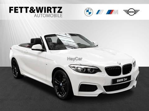 BMW 218 i Cabrio M Sport &K