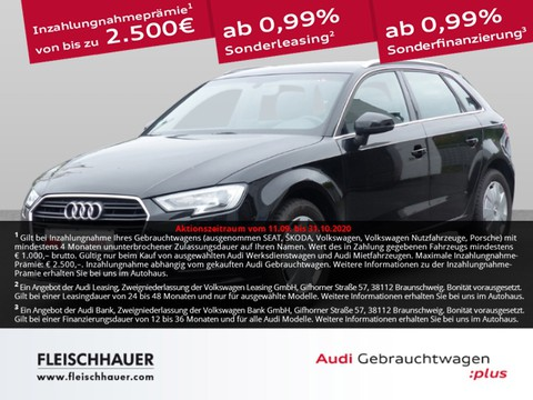 Audi A3 1.0 Sportback 30 TFSI design