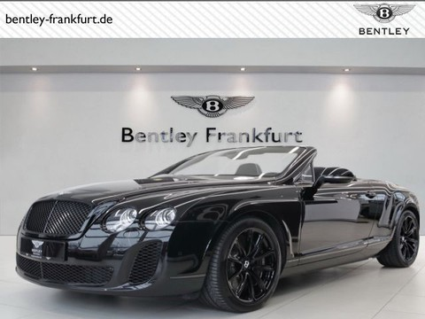 Bentley Continental Supersports Convertible von BENTLEY