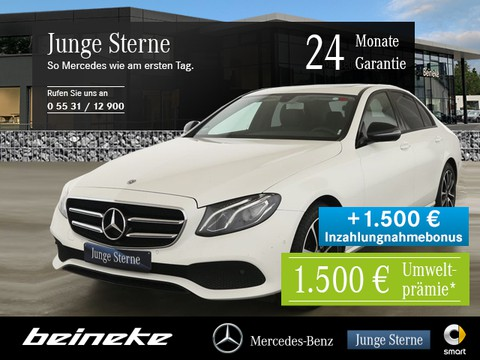 Mercedes-Benz E 200 Avantgarde Night Parkpaket