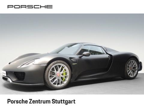 Porsche 918 Spyder Basis Burmester Weissach-Paket