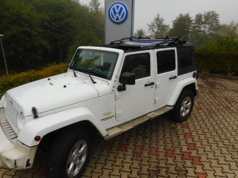 Jeep Wrangler SUV4 Unlimited Sahara