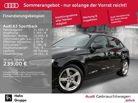 Audi A3 1.0 TFSI Sportback Sport