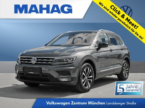 Volkswagen Tiguan 2.0 TSI IQ DRIVE AppConnect FahrerAssistPlus 17Zoll