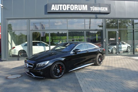 Mercedes S 63 AMG 4 matic Coupe DRIVERS PACKAGE TV