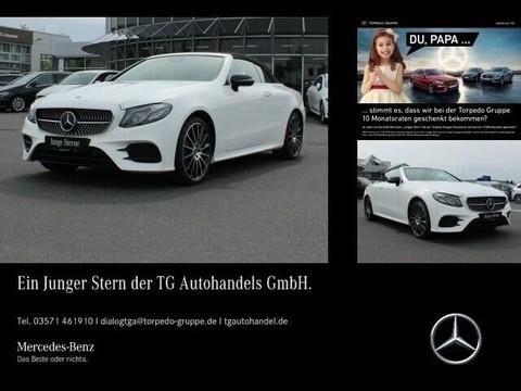 Mercedes-Benz E 450 Cabrio AMG SITZKLIMA DISTRON