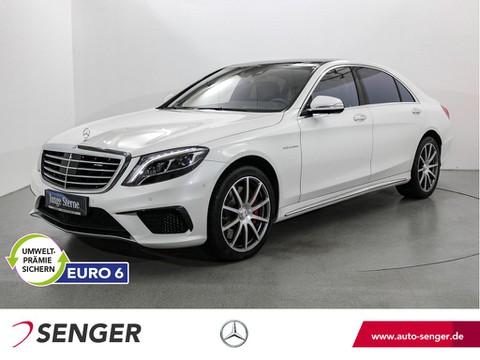 Mercedes S 63 AMG Lang TV Burmester Fond-Ent