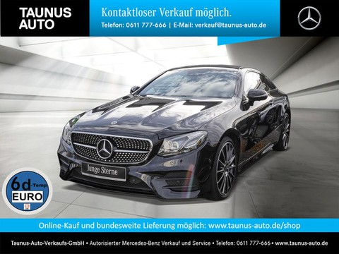 Mercedes-Benz E 400 d COUPE AMG WIDE CARBON