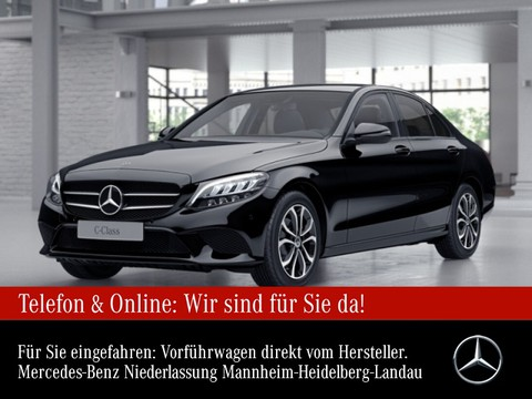 Mercedes-Benz C 180 Avantgarde Night Spurhalt