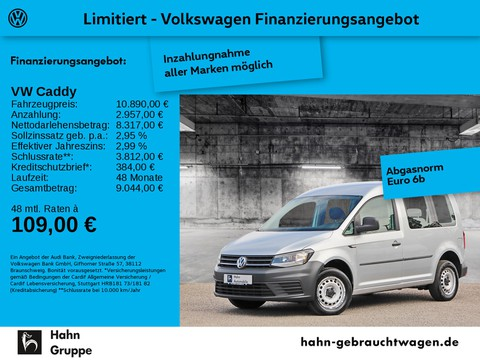 Volkswagen Caddy 2.0 TDI Kombi Basis