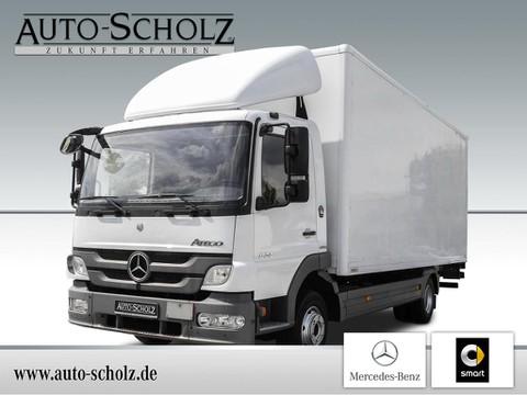 Mercedes Atego 824 Koffer LBW Spoiler Dachluke