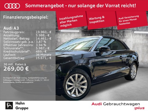 Audi A3 1.4 TFSI Cabriolet Attraction