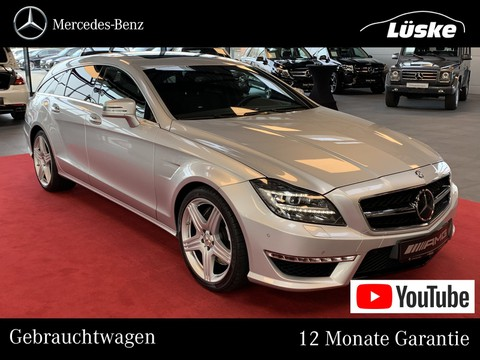 Mercedes CLS 63 AMG SB Harmann Carbon Massage