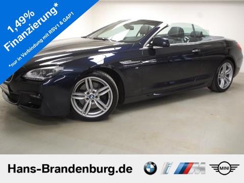 BMW 640 dA Cabrio xDrive 370 - EUR M Sport Ed NavProf HiFi