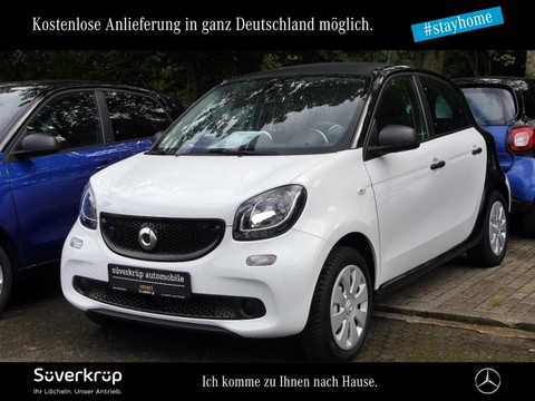 smart ForFour electric drive Ganzjahres