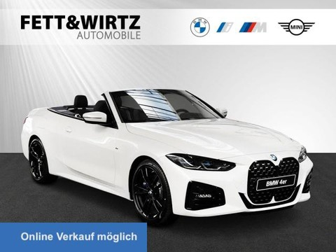 BMW 420 i Cabrio M-Sport Laser H K 19