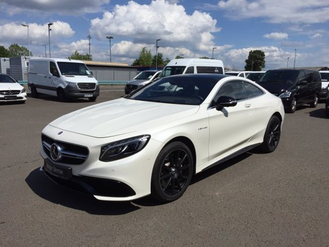Mercedes-Benz S 63 AMG Cpé Night DISTRO KeyGo Massage Memo