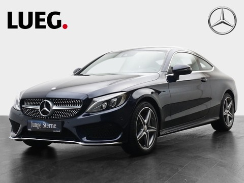 Mercedes C 220 d AMG Coupe Panodach