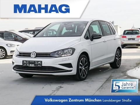 "Volkswagen Golf Sportsvan 1.5 TSI IQ DRIVE -"""" ""Blind Spot""-Sensor ""Emergency "" - Verkehrszeichenerkennung - Navigationsfunktion ""Discover Media"" -"