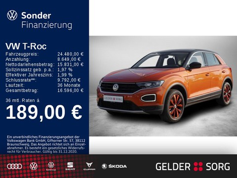 Volkswagen T-Roc 1.5 TSI Style Stand