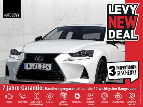 Lexus IS 300 h Competition Safety System