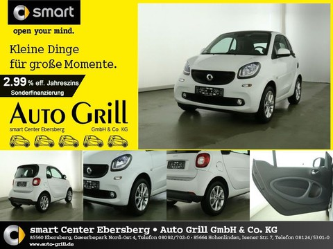 Smart ForTwo 52kw PASSION White Edition Spurhalteass
