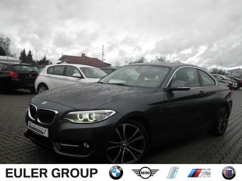 BMW 225 d Coupe A Sport Line Multif Lenkrad